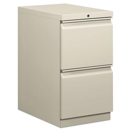 Efficiencies Mobile File/File Pedestal, 15w x 22.88d x 28h, Light Gray. Picture 1