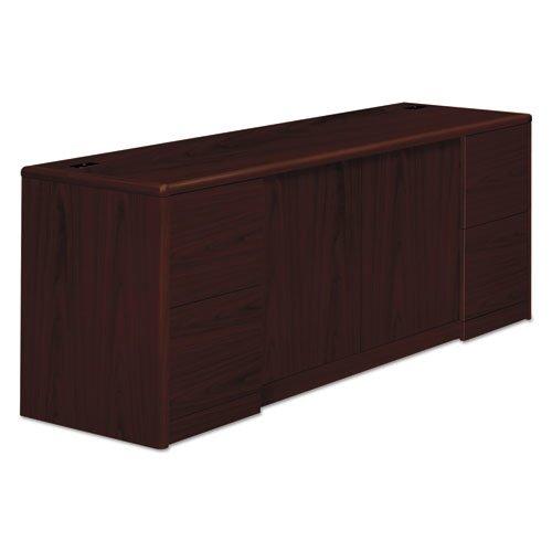 10700 Series Credenza w/Doors, 72w x 24d x 29.5h, Mahogany. Picture 1