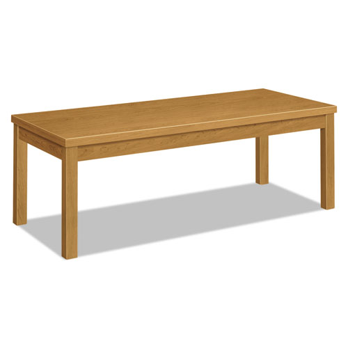 Laminate Occasional Table, Rectangular, 48w x 20d x 16h, Harvest. Picture 1
