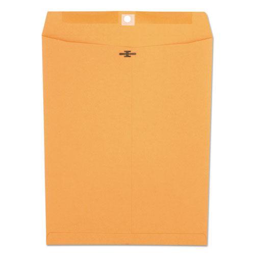 Kraft Clasp Envelope, #97, Square Flap, Clasp/Gummed Closure, 10 x 13, Brown Kraft, 100/Box. Picture 1