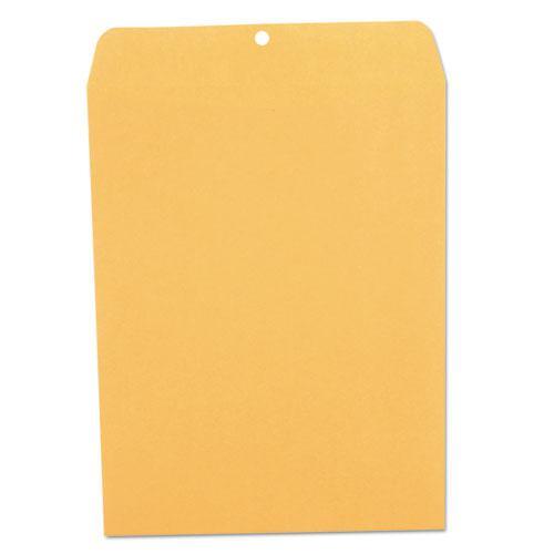 Kraft Clasp Envelope, #97, Squar Flap, Clasp/Gummed Closure, 10 x 13, Brown Kraft, 100/Box. Picture 3