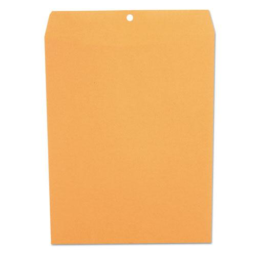 Kraft Clasp Envelope, #97, Square Flap, Clasp/Gummed Closure, 10 x 13, Brown Kraft, 100/Box. Picture 2