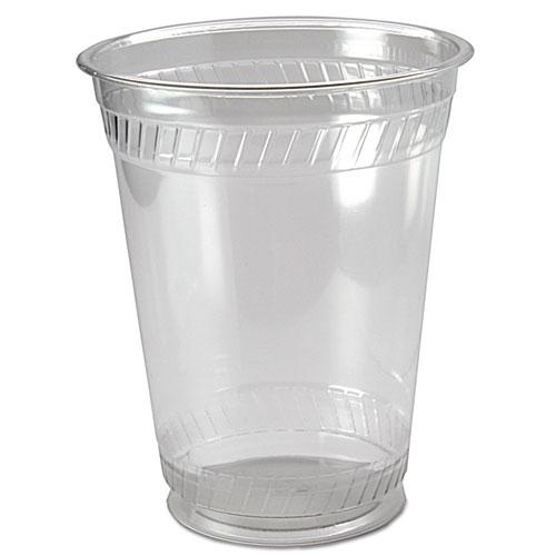 Kal-Clear PET Cold Drink Cups, 16/18 oz, Clear, 50/Pack, 20/Carton. Picture 1