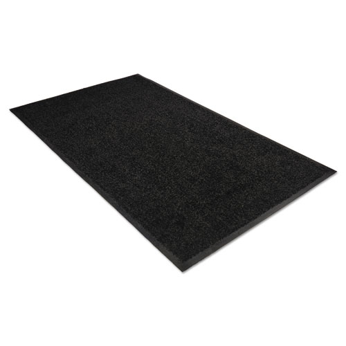 Platinum Series Indoor Wiper Mat, Nylon/Polypropylene, 36 x 60, Black. Picture 1