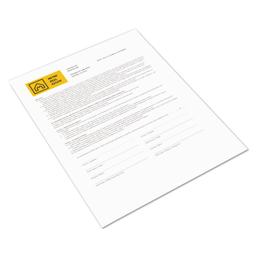 Revolution Digital Carbonless Paper, 1-Part, 8.5 x 11, White, 500/Ream. Picture 1