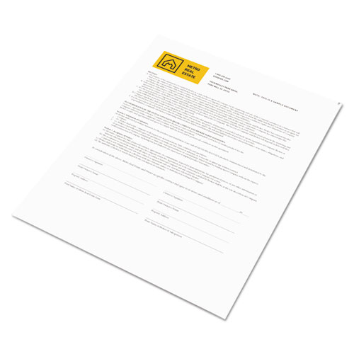Revolution Digital Carbonless Paper, 1-Part, 8.5 x 11, White, 500/Ream. Picture 3