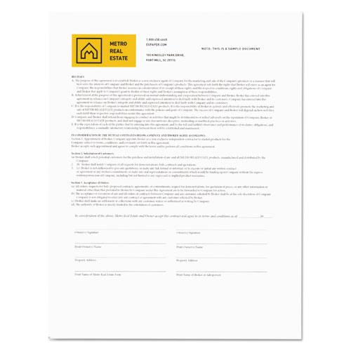 Revolution Digital Carbonless Paper, 1-Part, 8.5 x 11, White, 500/Ream. Picture 2