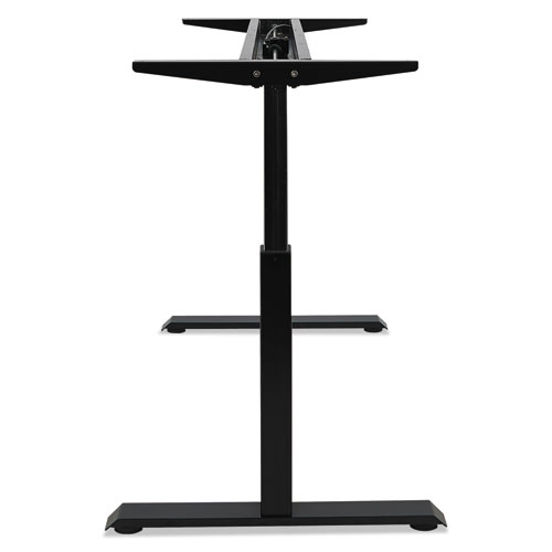 """AdaptivErgo Pneumatic Height-Adjustable Table Base, 26.18"""" to 39.57"""", Black. Picture 10"""