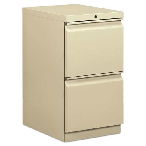 Efficiencies Mobile File/File Pedestal, 15w x 19.88d x 28h, Putty. Picture 1