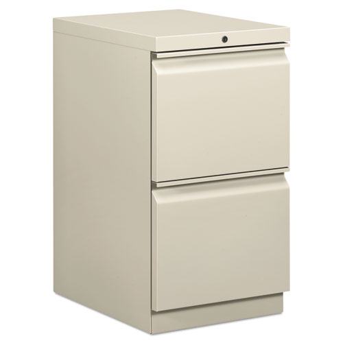 Efficiencies Mobile File/File Pedestal, 15w x 19.88d x 28h, Light Gray. Picture 1
