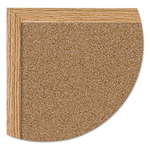 Earth Cork Board, 48 x 72, Wood Frame. Picture 2