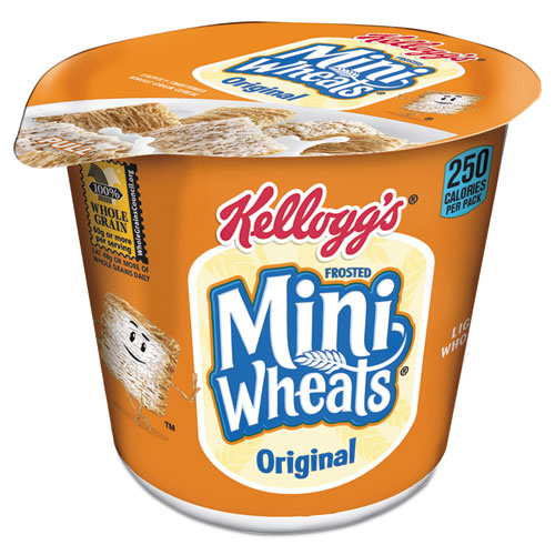 Breakfast Cereal, Frosted Mini Wheats, Single-Serve, 6/Box. Picture 1