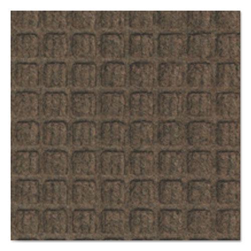 Super-Soaker Wiper Mat with Gripper Bottom, Polypropylene, 36 x 120, Dark Brown. Picture 3