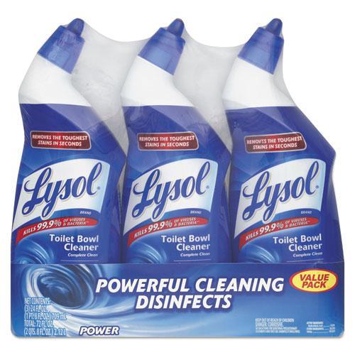 Lysol Lavender Click Gel Automatic Toilet Bowl Cleaner 4 Ct
