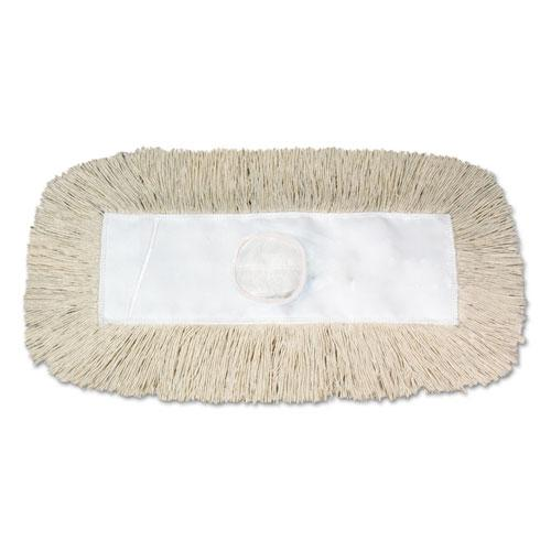 Dust Mop, Disposable, 5 x 30, White. Picture 1