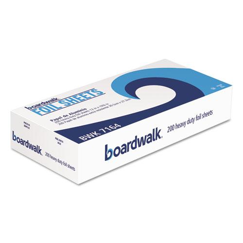 """Heavy-Duty Aluminum Foil Pop-Up Sheets, 12"""" x 10 3/4"""", 200/Box, 12 Boxes/Carton. Picture 2"""