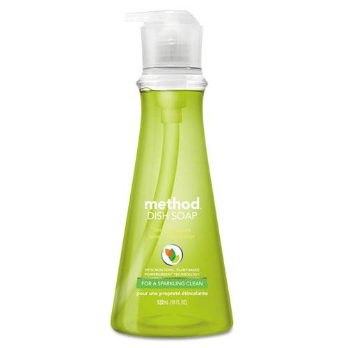 Dish Soap, Lime and Sea Salt, 18 oz Pump Bottle. Picture 1