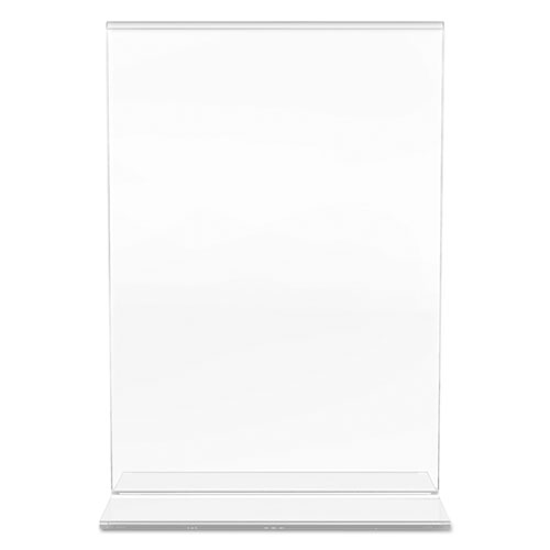 Classic Image Double-Sided Sign Holder, 5 x 7 Insert, Clear. Picture 8