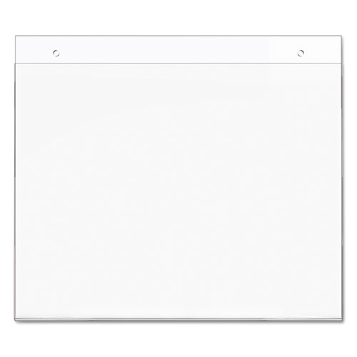 Classic Image Wall-Mount Sign Holder, Landscape, 11 x 8 1/2, Clear. Picture 8
