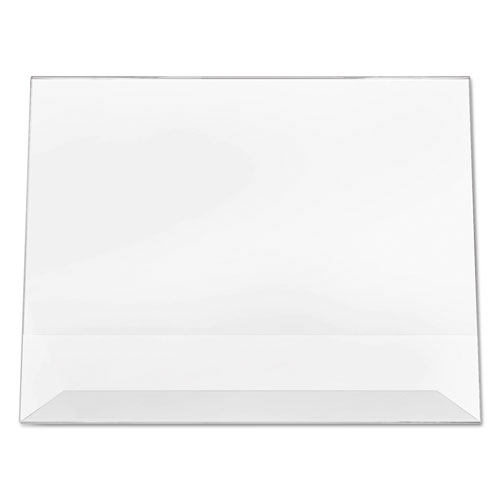 Classic Image Slanted Sign Holder, Landscaped, 11 x 8 1/2 Insert, Clear. Picture 8