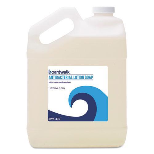 Antibacterial Liquid Soap, Floral Balsam, 1 gal Bottle. Picture 1