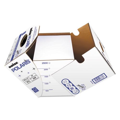 POLARIS Premium Multipurpose Paper, 97 Bright, 20lb, 8.5 x 11, White, 2, 500/Carton. Picture 1