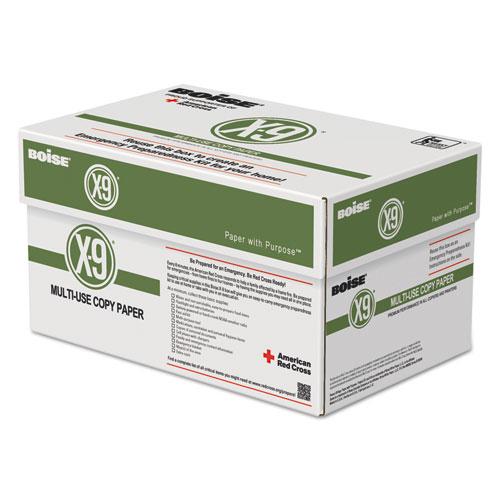X-9 Multi-Use Copy Paper, 92 Bright, 20lb, 8.5 x 11, White, 500 Sheets/Ream, 10 Reams/Carton, 40 Cartons/Pallet. Picture 3