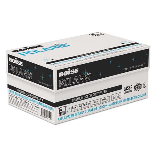 POLARIS Premium Color Copy Paper, 98 Bright, 28lb, 11 x 17, White, 500/Ream. Picture 2