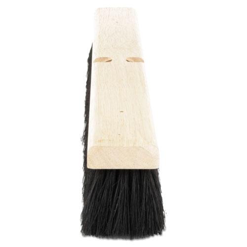 """Floor Brush Head, 2 1/2"""" Black Tampico Fiber, 24"""". Picture 2"""