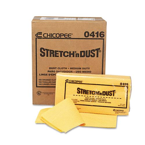 Stretch 'n Dust Cloths, 23 1/4 x 24, Orange/Yellow, 20/Bag, 5 Bags/Carton. Picture 5