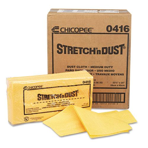 Stretch 'n Dust Cloths, 23 1/4 x 24, Orange/Yellow, 20/Bag, 5 Bags/Carton. Picture 6