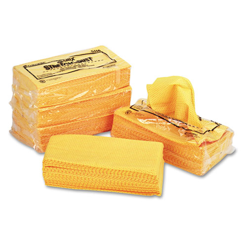 Stretch 'n Dust Cloths, 23 1/4 x 24, Orange/Yellow, 20/Bag, 5 Bags/Carton. Picture 7