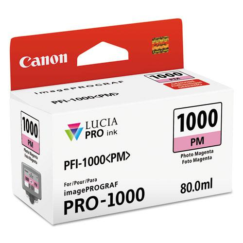 0551C002 (PFI-1000) Lucia Pro Ink, 80 mL, Photo Magenta. The main picture.