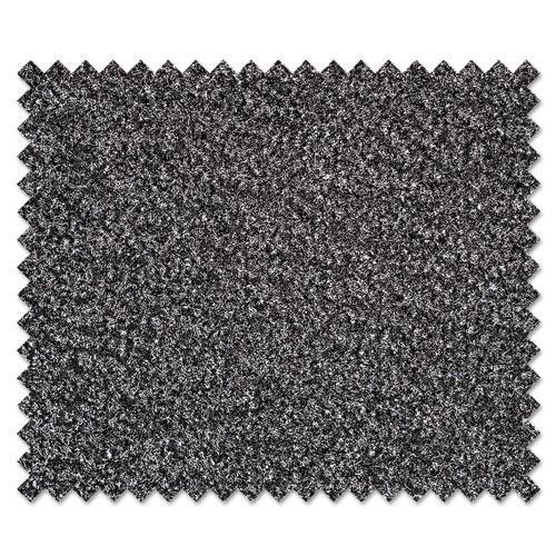 Dust-Star Microfiber Wiper Mat, 36 x 60, Charcoal. Picture 3
