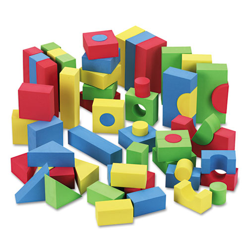 Blocks, Assorted Colors, 68/Pack. Picture 1