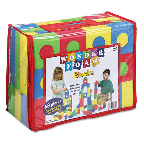 Blocks, Assorted Colors, 68/Pack. Picture 2