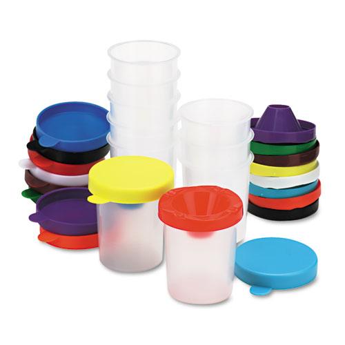 No-Spill Paint Cups, 10/Set. Picture 1