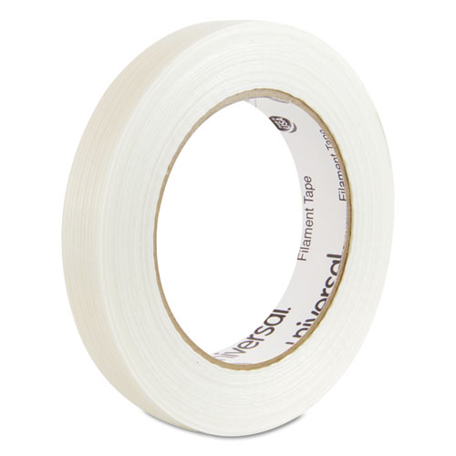 "120# Utility Grade Filament Tape, 3"" Core, 18 mm x 54.8 m, Clear. Picture 1"