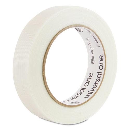 "350# Premium Filament Tape, 3"" Core, 24 mm x 54.8 m, Clear. Picture 1"
