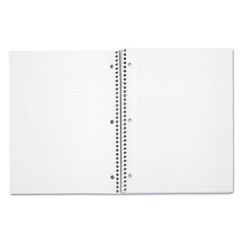 Spiral Notebook, 3 Subjects, Medium/College Rule, Assorted Color Covers, 11 x 8, 120 Sheets. Picture 4