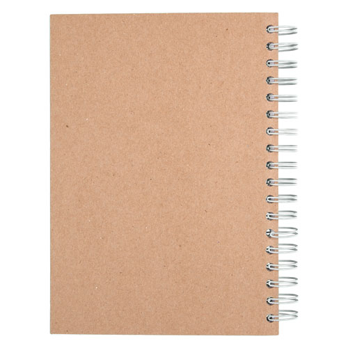 Recycled Notebook, 1 Subject, Medium/College Rule, Assorted Color Covers, 9.5 x 6, 120 Sheets. Picture 5