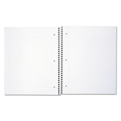 DuraPress Cover Notebook, 1 Subject, Medium/College Rule, Assorted Color Covers, 11 x 8.5, 100 Sheets. Picture 5