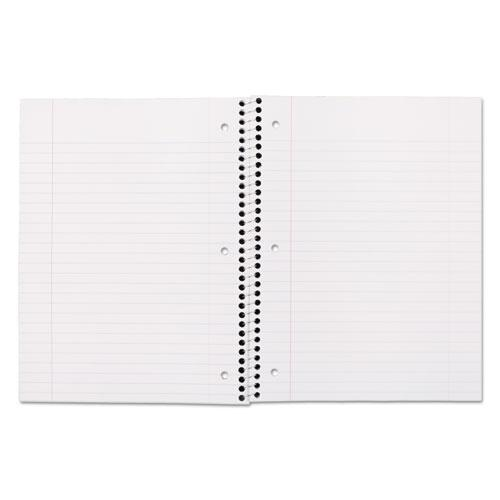 Spiral Notebook, 1 Subject, Wide/Legal Rule, Assorted Color Covers, 10.5 x 7.5, 70 Sheets. Picture 2