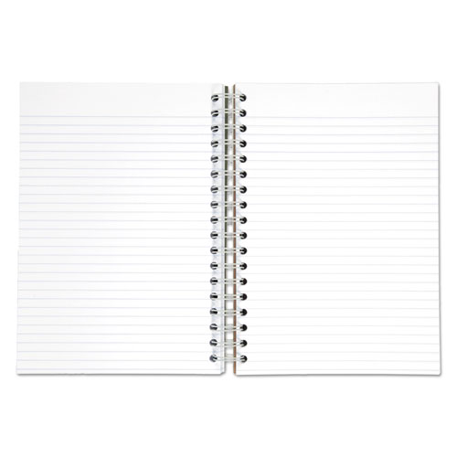 Recycled Notebook, 1 Subject, Medium/College Rule, Assorted Color Covers, 9.5 x 6, 120 Sheets. Picture 2