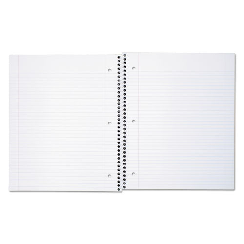 DuraPress Cover Notebook, 1 Subject, Medium/College Rule, Assorted Color Covers, 11 x 8.5, 80 Sheets. Picture 6