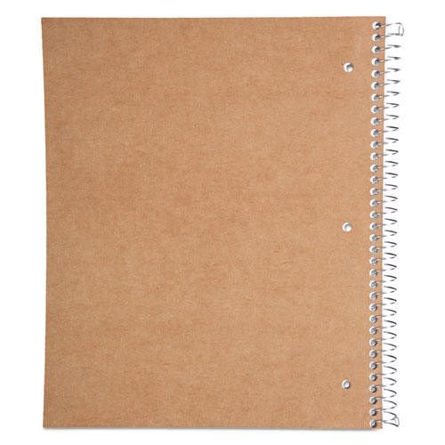 DuraPress Cover Notebook, 1 Subject, Medium/College Rule, Assorted Color Covers, 11 x 8.5, 80 Sheets. Picture 5