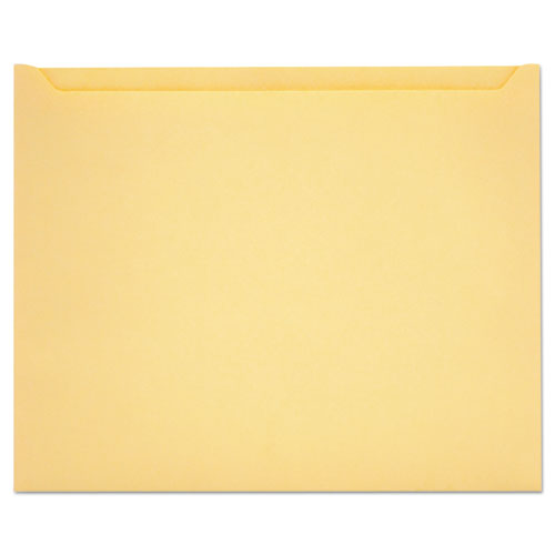 Paper File Jackets, Letter Size, Buff, 100/Box. Picture 1
