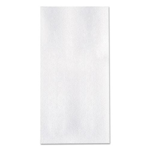 Dinner Napkins, 2-Ply, 15 x 17, White, 300/Carton. Picture 1