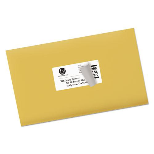 Shipping Labels w/ TrueBlock Technology, Laser Printers, 2 x 4, White, 10/Sheet, 25 Sheets/Pack. Picture 6