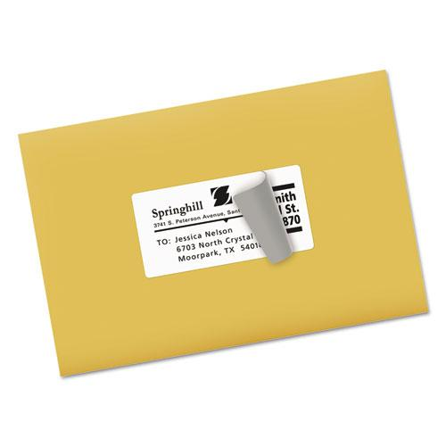 Shipping Labels w/ TrueBlock Technology, Laser Printers, 2 x 4, White, 10/Sheet, 250 Sheets/Box. Picture 4